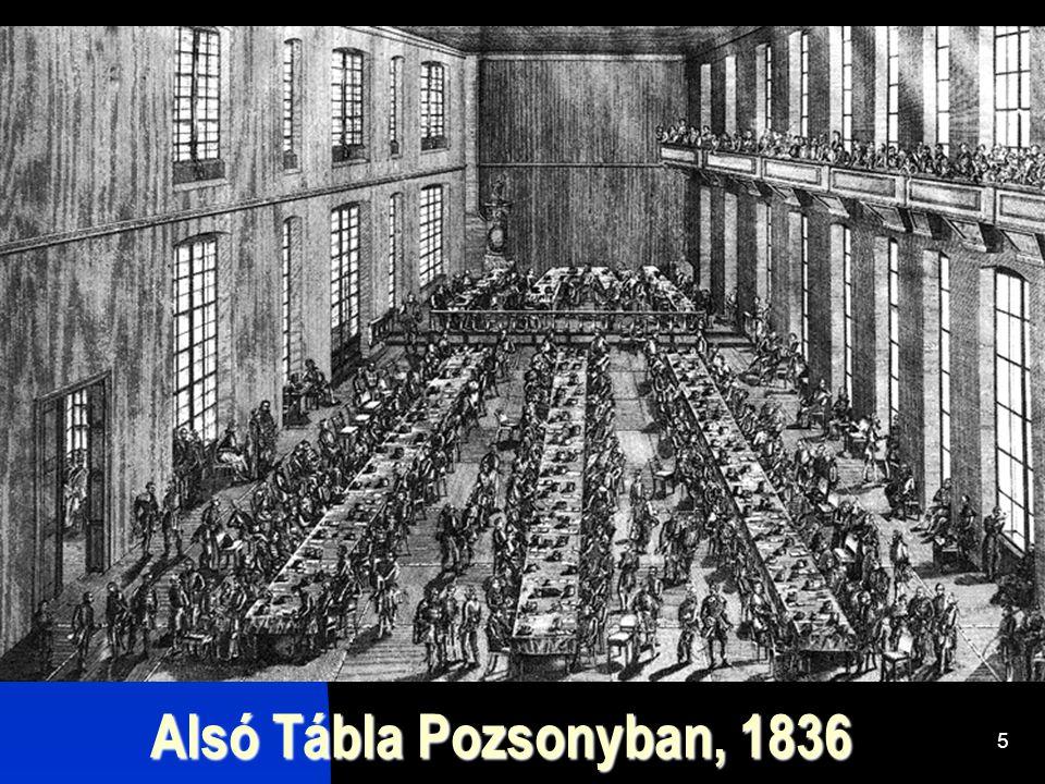 5 Alsó Tábla Pozsonyban, 1836