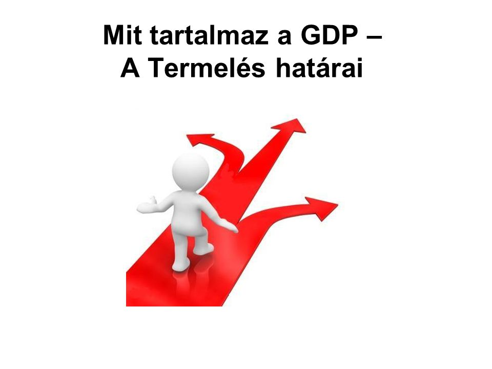 Mit tartalmaz a GDP – A Termelés határai