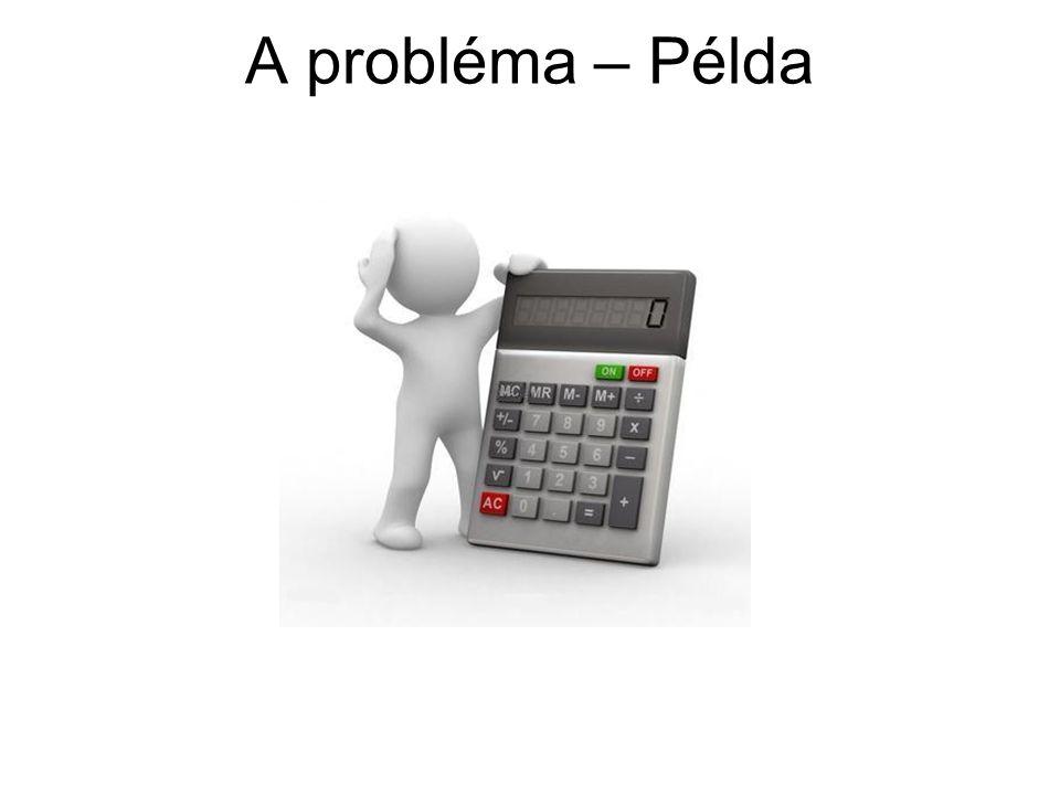 A probléma – Példa