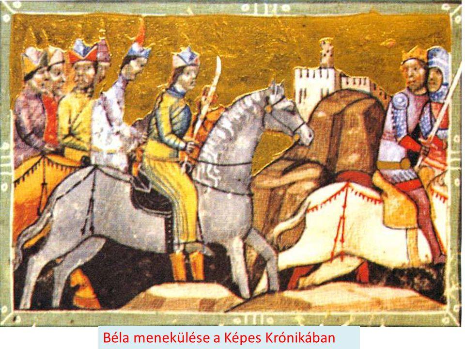 Béla menekülése a Képes Krónikában
