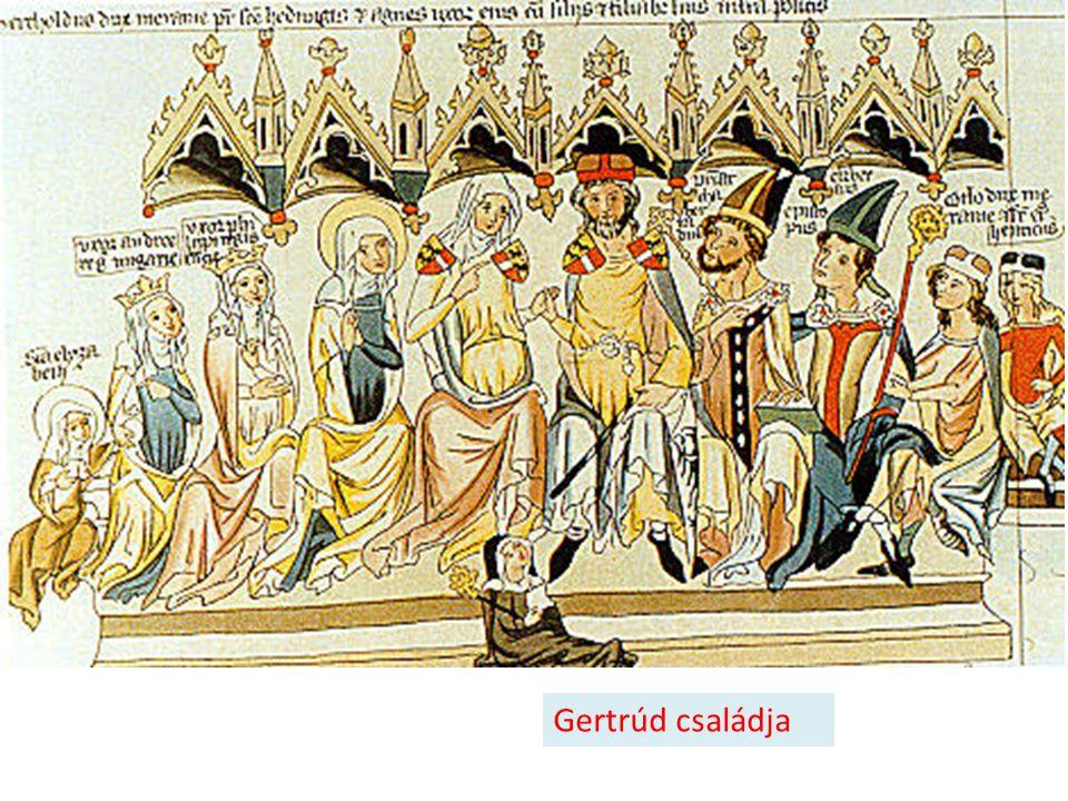 Gertrúd családja