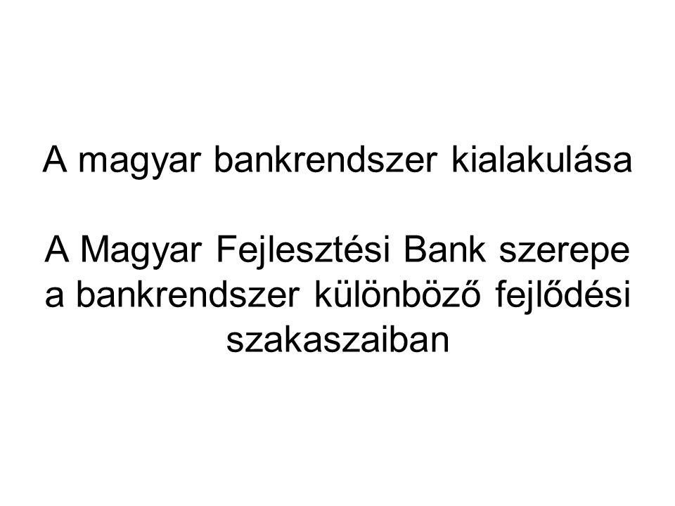 10 A bankrendszer fejlődésének szakaszai I.A növekedés időszaka /1987-91/ •Extenzív fejlődés: a bankok száma nőtt, a szolgáltatások köre bővült.