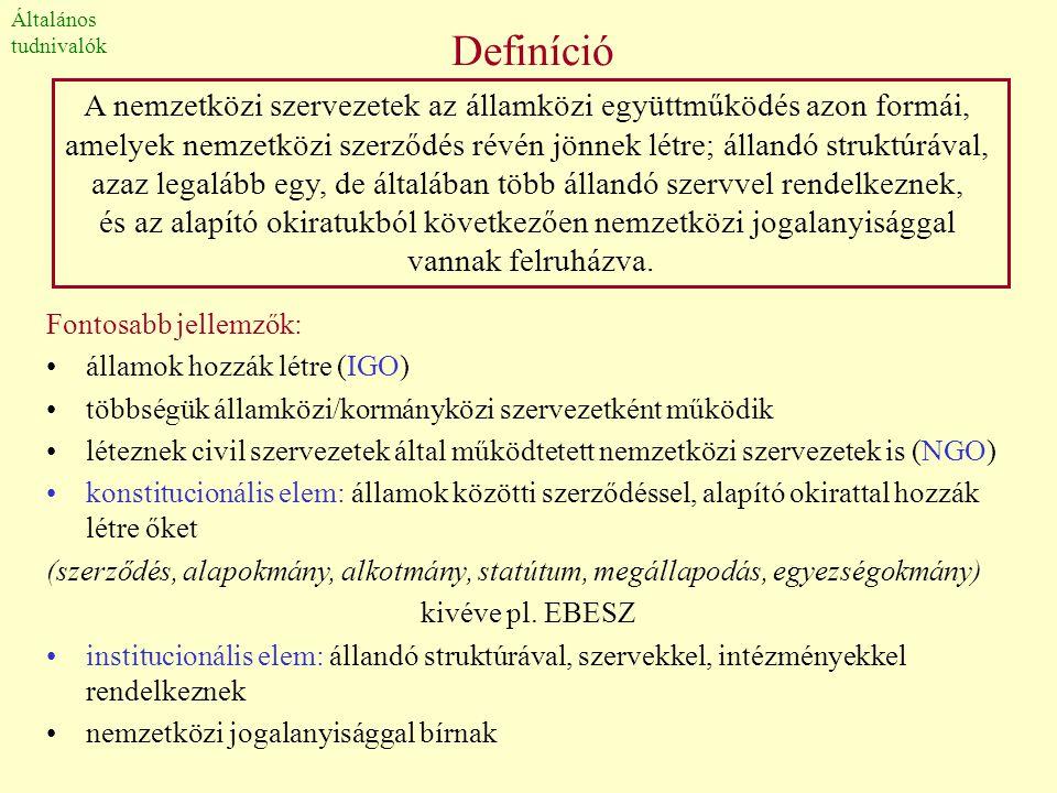 Történeti fejlődés •Ókor: a folyamatos viszálykodások ellenére az államok közti együttműködés kezdetleges formái már megjelentek (pl.