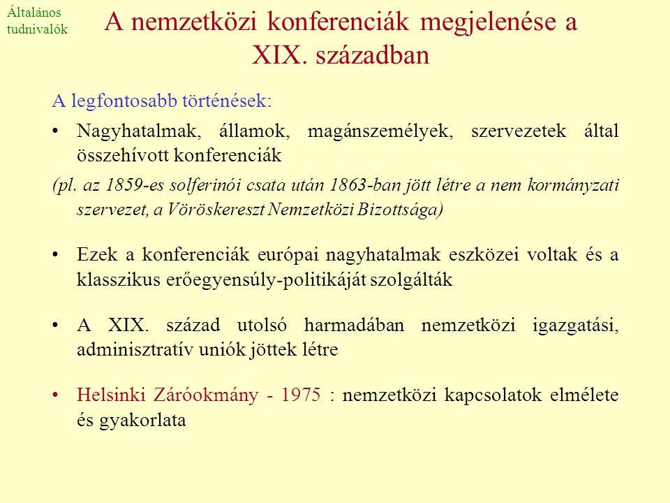 Terminológia •A XIX.