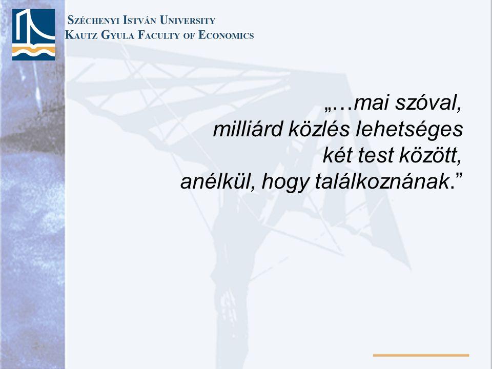 Közgazdasági elméletek története 9. Előadás 2008. November 21. A monetarizmus