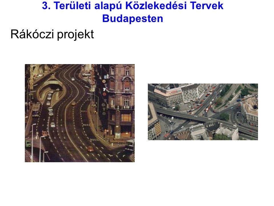 3. Területi alapú Közlekedési Tervek Budapesten Rákóczi projekt