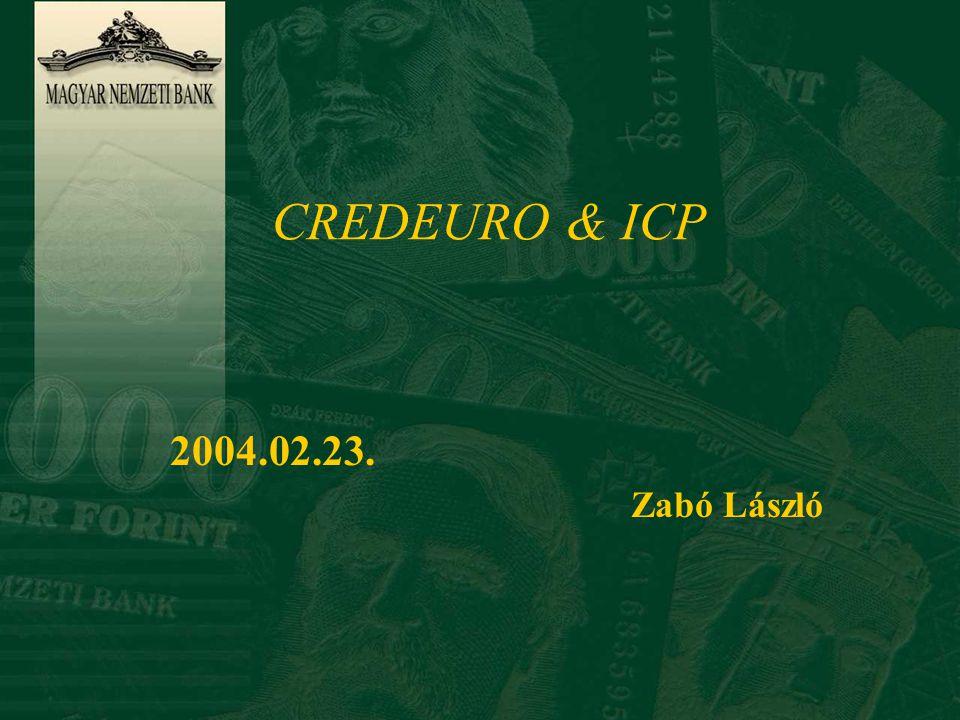 CREDEURO & ICP 2004.02.23. Zabó László