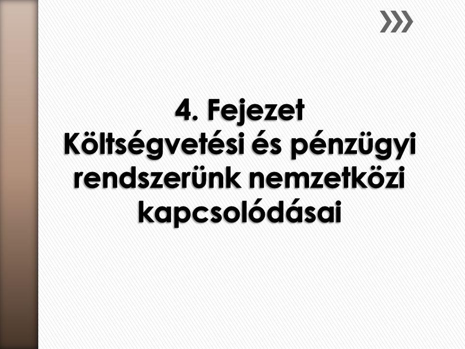 A hallgató szerezzen ismereteket:  a nemzetközi pénz- és tőkepiacok magyar gazdaságra gyakorolt hatásáról  a pénzügyi és költségvetési igazgatáshoz kapcsolódó legfontosabb nemzetközi szervezetekről,  a pénzügyi és költségvetési igazgatás európai uniós összefüggéseiről