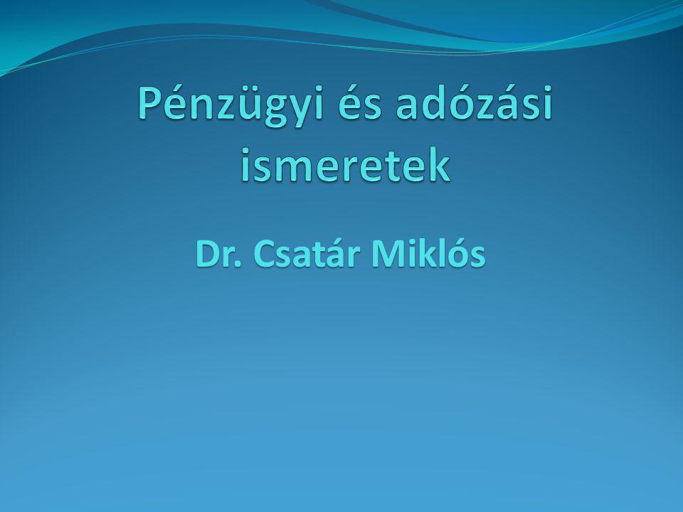 Dr. Csatár Miklós