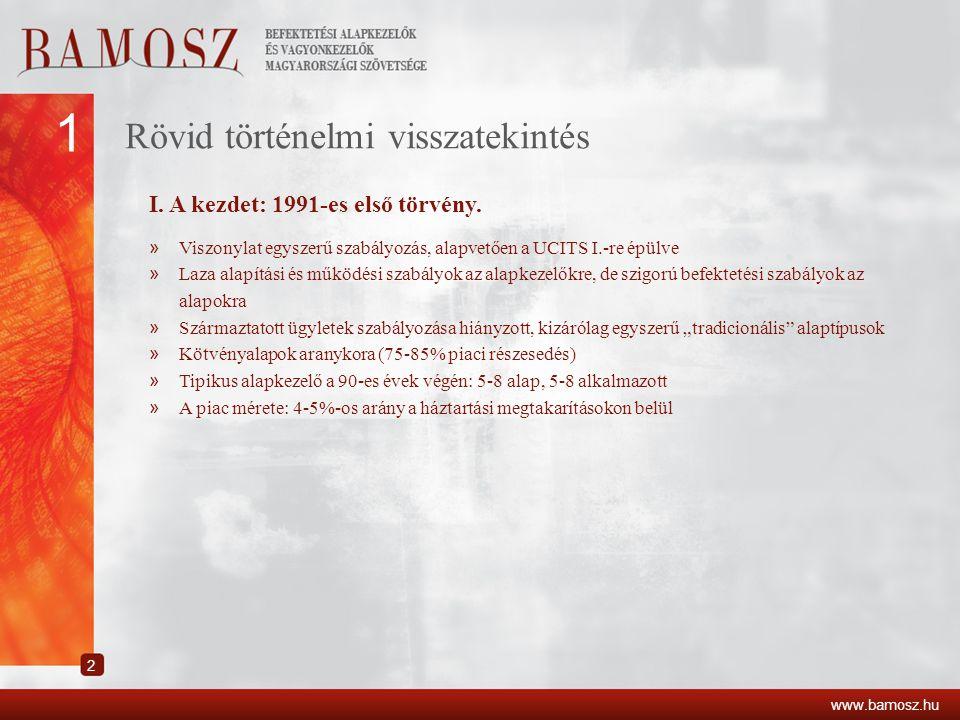 Rövid történelmi visszatekintés II.Egy nagy lépés előre: 2001 - Tpt.