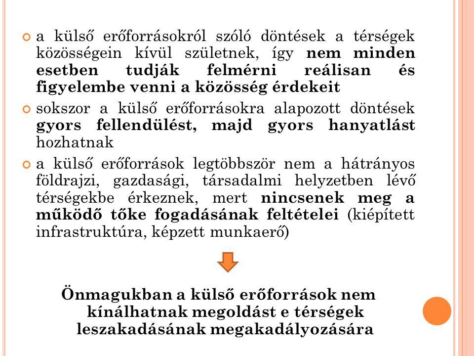 A BELSŐ ERŐFORRÁSOK KIAKNÁZÁSA HELYZETFELTÁRÁS.