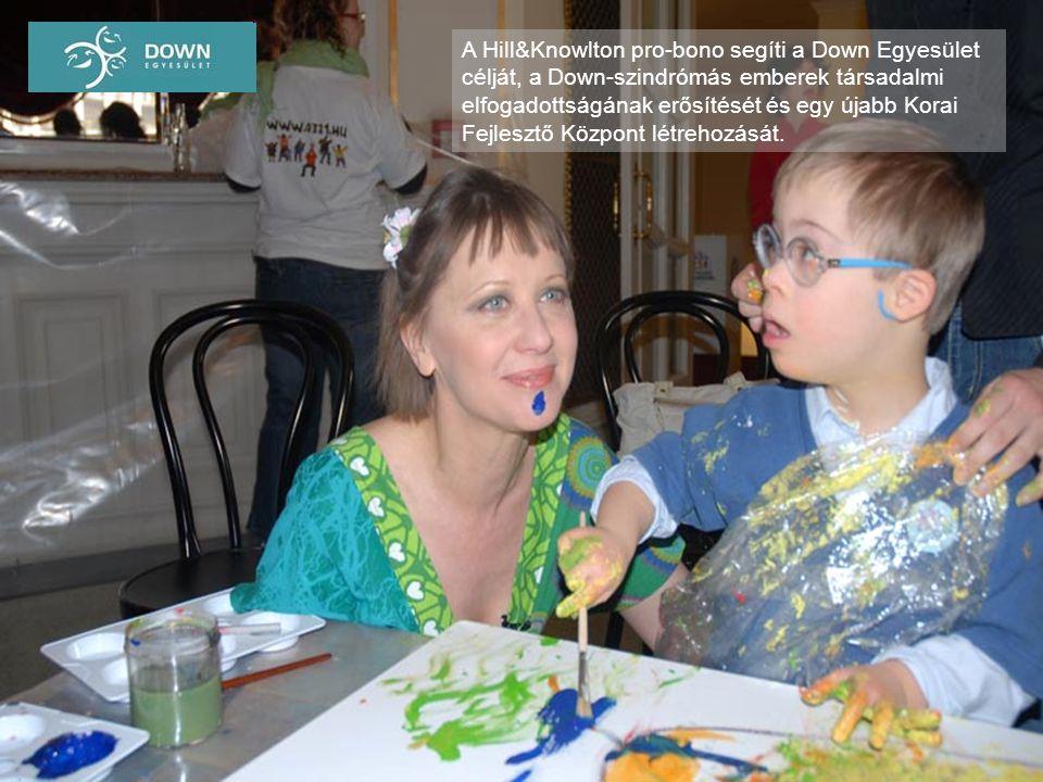 A Hill&Knowlton pro-bono segíti a Down Egyesület célját, a Down-szindrómás emberek társadalmi elfogadottságának erősítését és egy újabb Korai Fejleszt