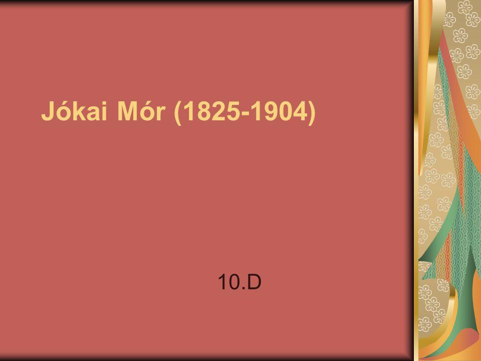Jókai Mór (1825-1904) 10.D