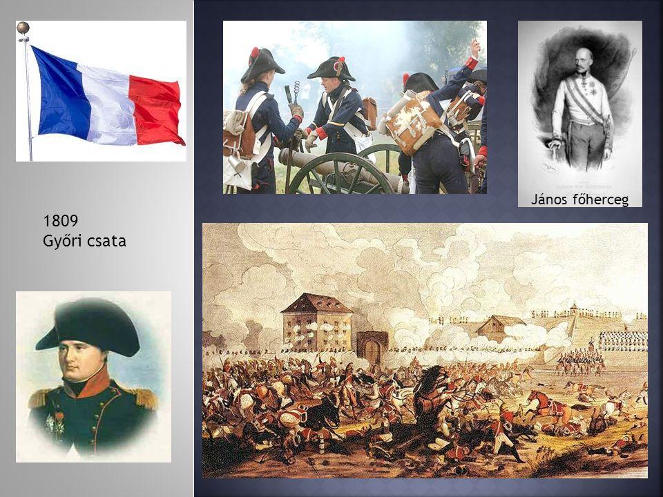 1809 Győri csata János főherceg