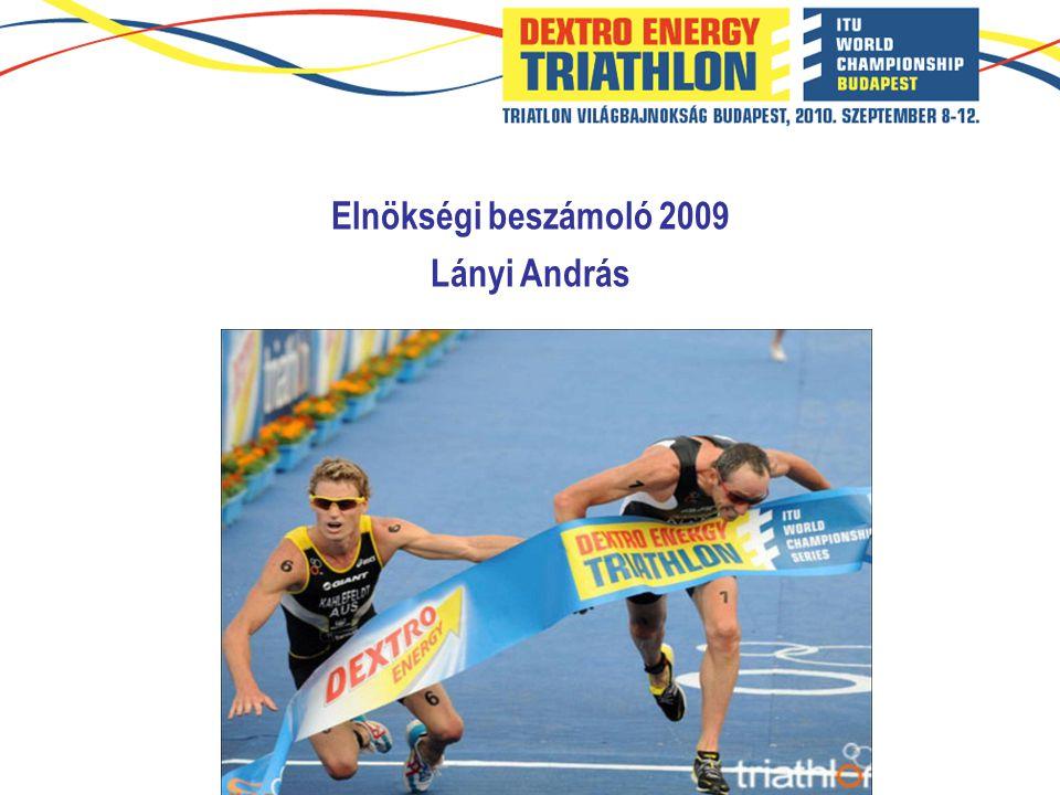 Elnökségi beszámoló 2009 Lányi András