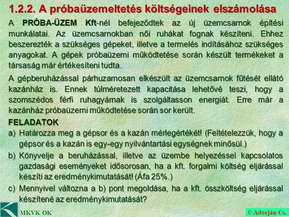 © Adorján Cs. MKVK OK 1.2.2.
