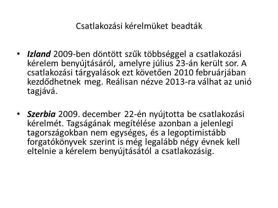 SCHENGENI EGYEZMÉNY (1985) Nem írta alá: UK, IE, Aláírta de nem alkalmazza: RO, BG, CY Aláírta bár nem EU tagállam: IS, NO, CH