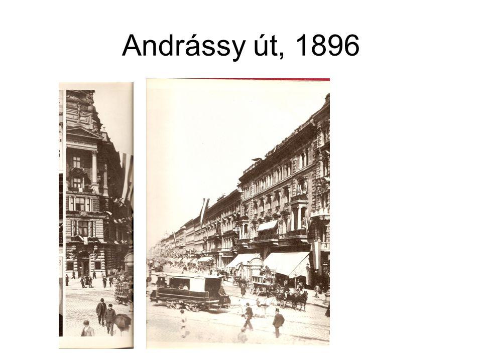 Andrássy út, 1896