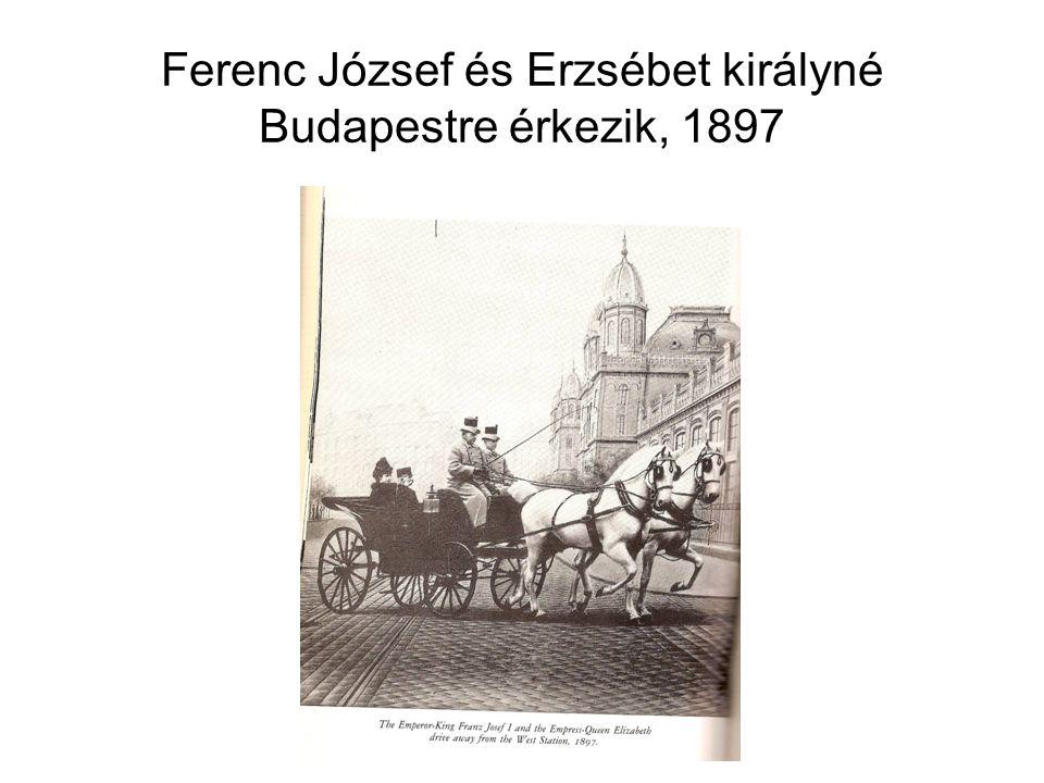 Az Erzsébet körút a századfordulós Budapesten