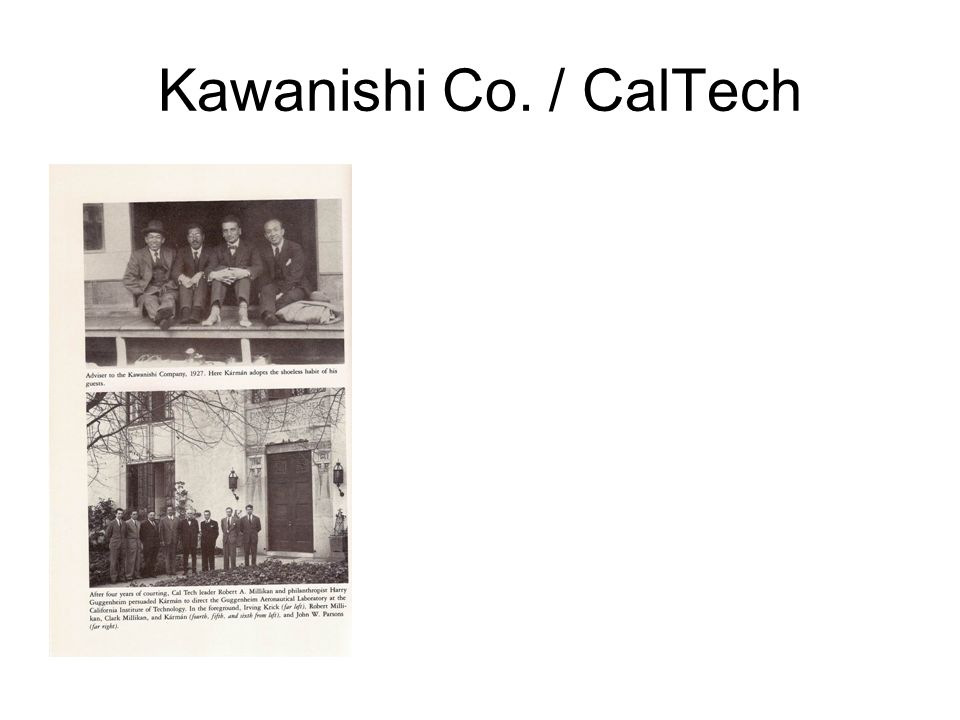 Kawanishi Co. / CalTech
