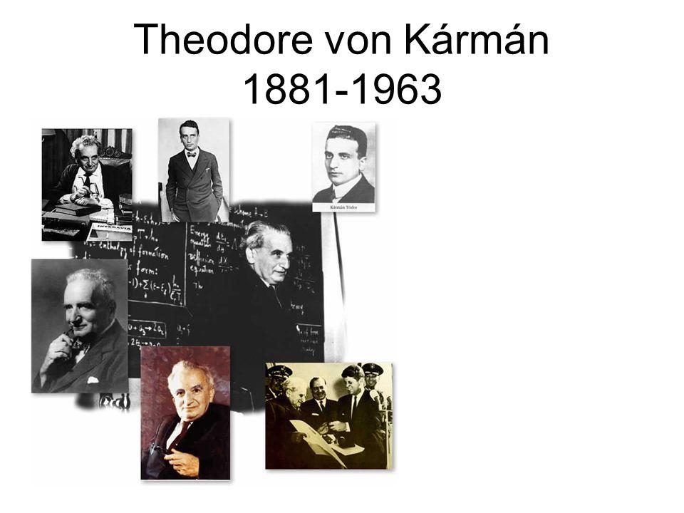 Theodore von Kármán 1881-1963