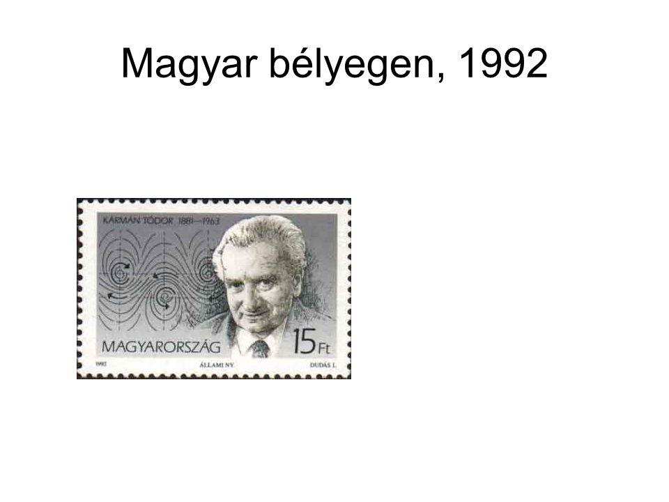 Magyar bélyegen, 1992