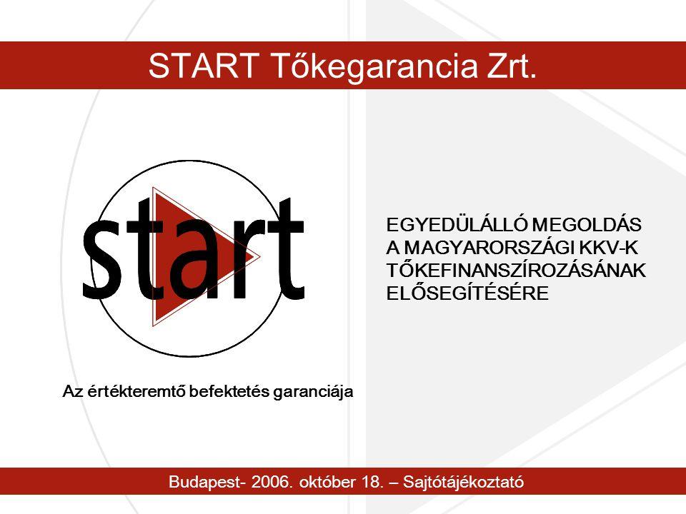Budapest- 2006. október 18. – Sajtótájékoztató START Tőkegarancia Zrt.
