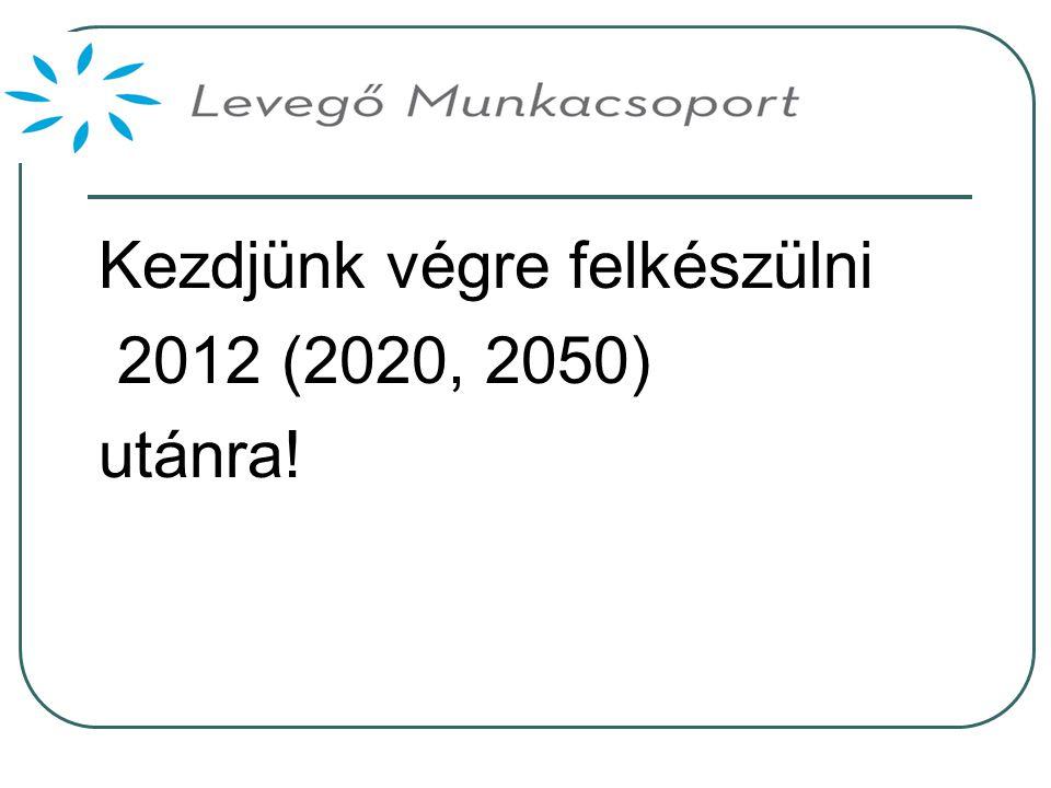 Kezdjünk végre felkészülni 2012 (2020, 2050) utánra!
