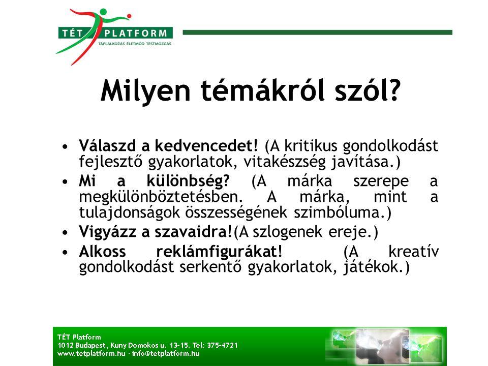 Miért jó a magyar reklámszakmának.