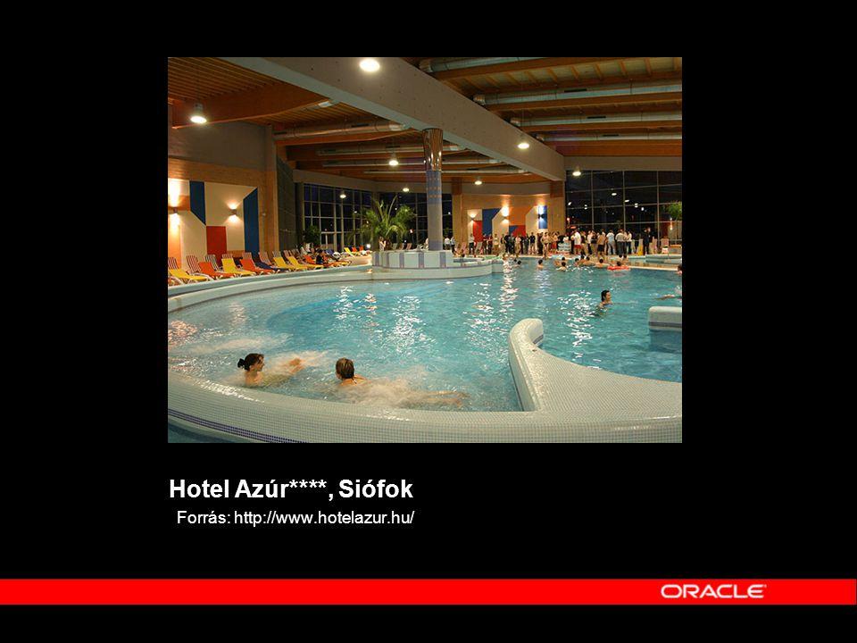 Hotel Azúr****, Siófok Forrás: http://www.hotelazur.hu/