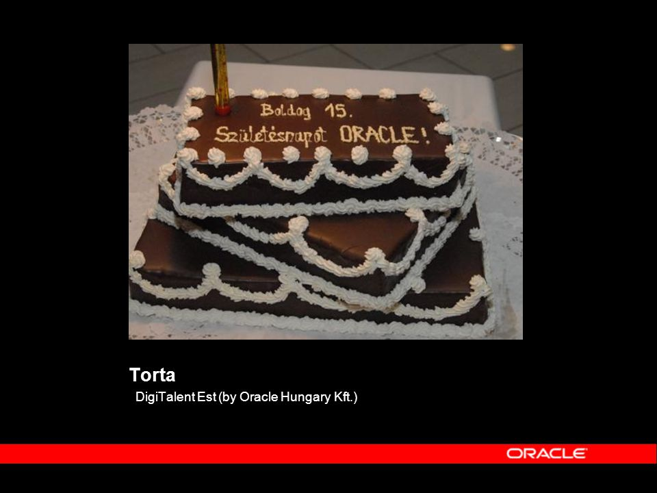 Torta DigiTalent Est (by Oracle Hungary Kft.)