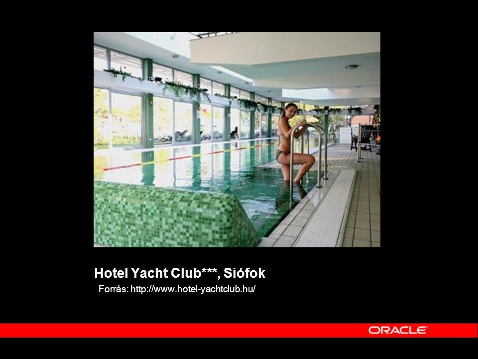 Hotel Yacht Club***, Siófok Forrás: http://www.hotel-yachtclub.hu/