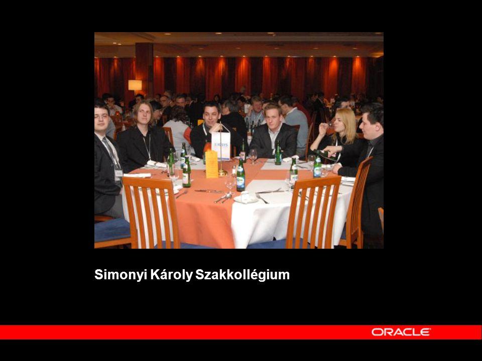 DB - Adatbázis-kezelés •Komplex önkormányzati térinformatika Oracle Spatial és Autodesk alapokon •Magyar nyelvi szótövesítő-támogatás Oracle Text rendszerben •A TimesTen lehetőségei a Magyar Telekom mobil árazó rendszerében •HP+Oracle = nyugodt vakációk A HP szerver virtualizáció és megbizhatóságot növelő technológiák a gyakorlatban, összhangban az Oracle megoldásaival •Üzleti adatok életciklusának kezelése (ILM)