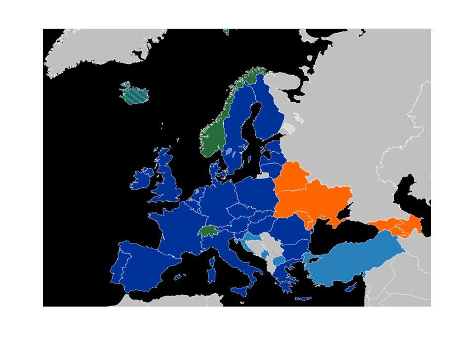 II.Vh. után: Európa romokban • 1947: Truman-doktrina (Amerika megvédi Európát a Szovjetúniótól.
