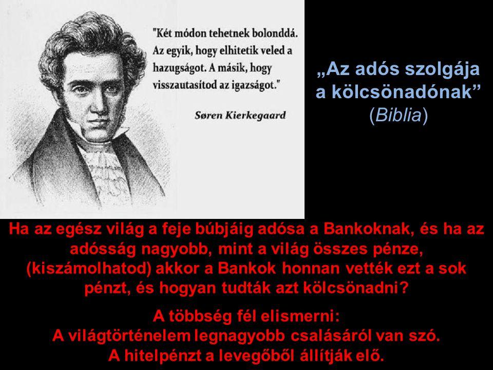 A devizahitel egy illúzió, hiszen svájci frank alapú kölcsönt úgy adnak a bankok, hogy ők nem vettek frankot, náluk nincs letétbe helyezve a svájci frank.