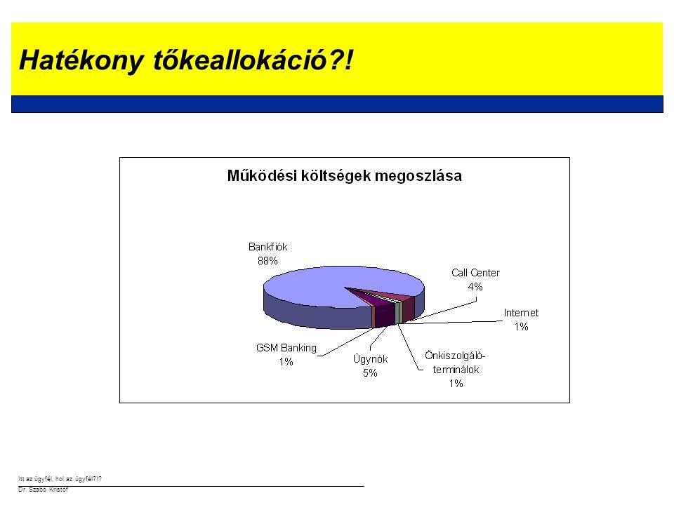 Itt az ügyfél, hol az ügyfél?!.Dr. Szabó Kristóf Minőségi kiszolgálás … de hol.