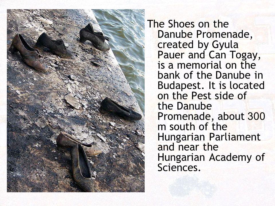 נעליים בטיילת הדנובה