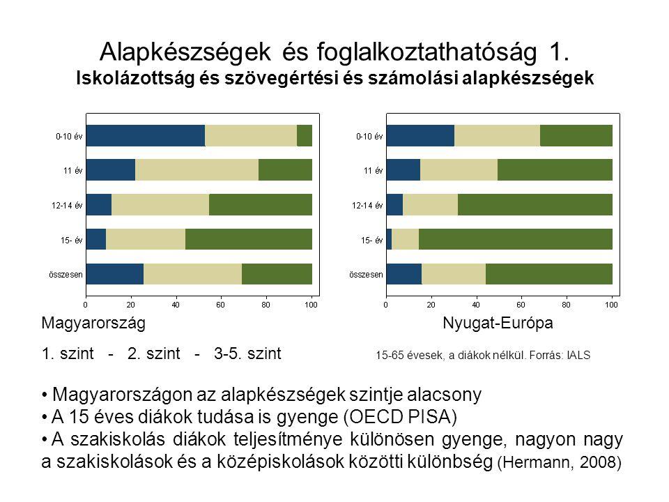 Alapkészségek és foglalkoztathatóság 2.