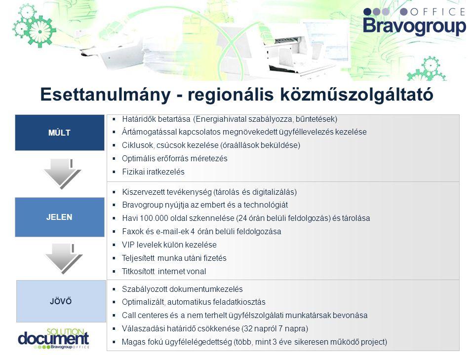Esettanulmány - regionális közműszolgáltató MÚLT JELEN JÖVŐ  Határidők betartása (Energiahivatal szabályozza, bűntetések)  Ártámogatással kapcsolato