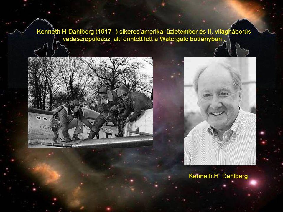 Kenneth H.Dahlberg Kenneth H Dahlberg (1917- ) sikeres amerikai üzletember és II.