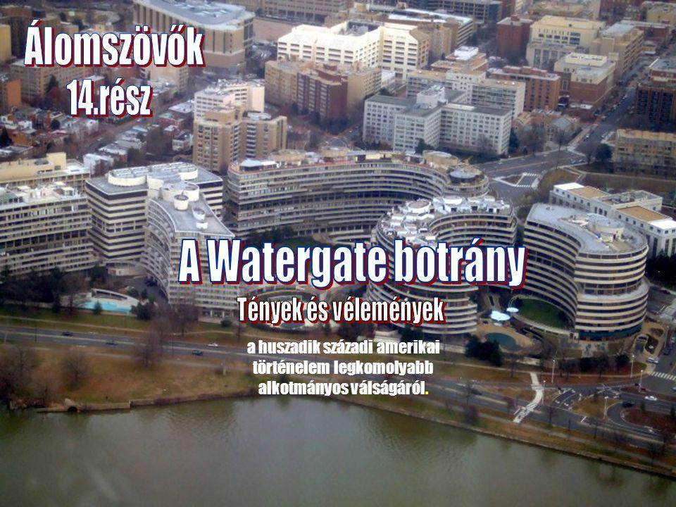 A Watergate komplexum az olasz Società Generale Immobiliare cég kivitelezésében, Luigi Moretti építész tervei alapján épült 1967.-ben.
