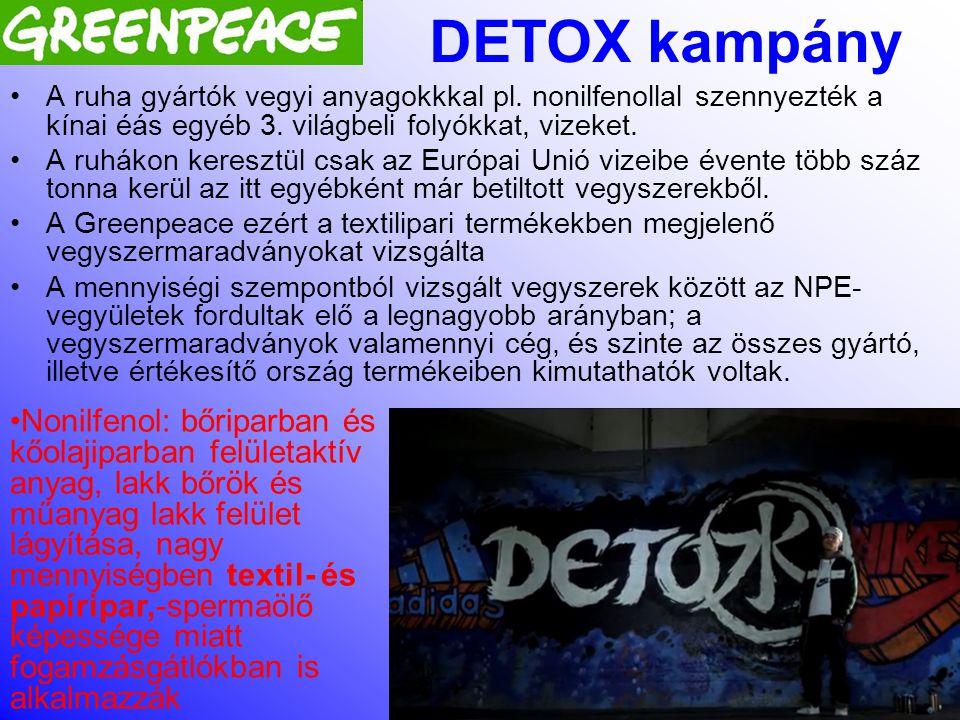 Simon Gergely 2012. november. 15 A DETOX kampányról