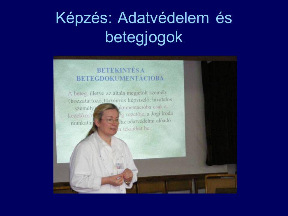 Képzés: Adatvédelem és betegjogok