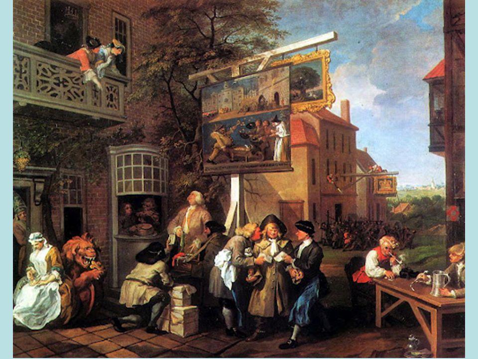 •Másik nagy angol festő, Thomas Gainsborough, aki szintén nagy portréfestő volt, de nem kizárólag az arcképfestésnek szentelte magát, művészi indulásakor ugyanis inkább tájképfestészettel foglalkozott.