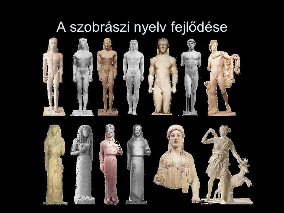 A szobrászi nyelv fejlődése
