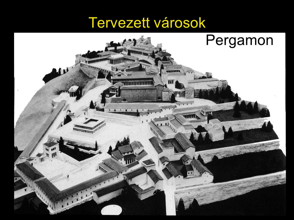 Pergamon Tervezett városok