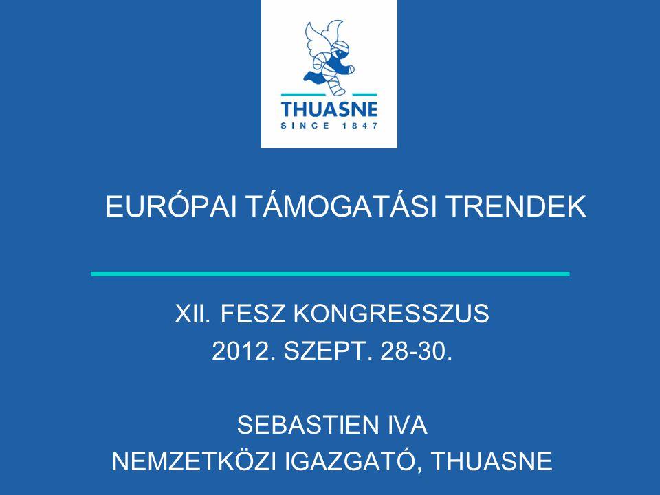 EURÓPAI TÁMOGATÁSI TRENDEK XII.FESZ KONGRESSZUS 2012.