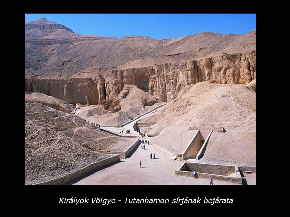 Tutanhamon kincseit bemutató utazásunk véget ért.