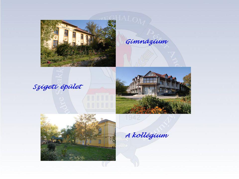 Gimnázium Szigeti épület A kollégium