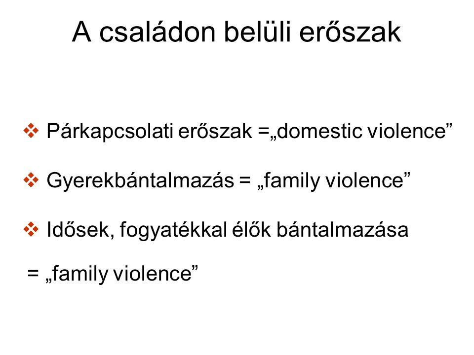 Nők elleni erőszak … bármely olyan, a nőket nemük miatt érő erőszakos tett, mely testi, szexuális vagy lelki sérülést okoz vagy okozhat nőknek, beleértve az effajta tettekkel való fenyegetést, valamint a kényszerítést és a szabadságtól való önkényes megfosztást, történjen az a közéletben vagy a magánszférában.